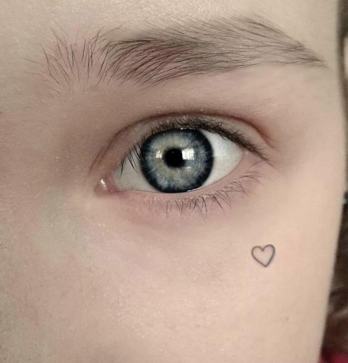 фото тату сердце на лице самое главное лечение