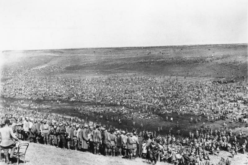 Bundesarchiv Bild 183 B21845, Sowjetische Kriegsgefangene im Lager