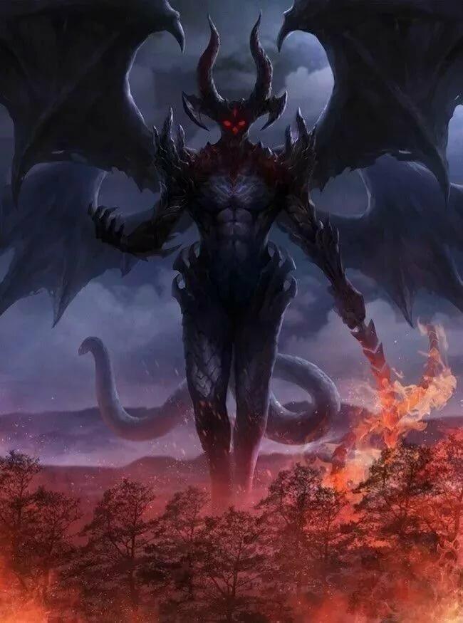 Сатана люцифер картинки