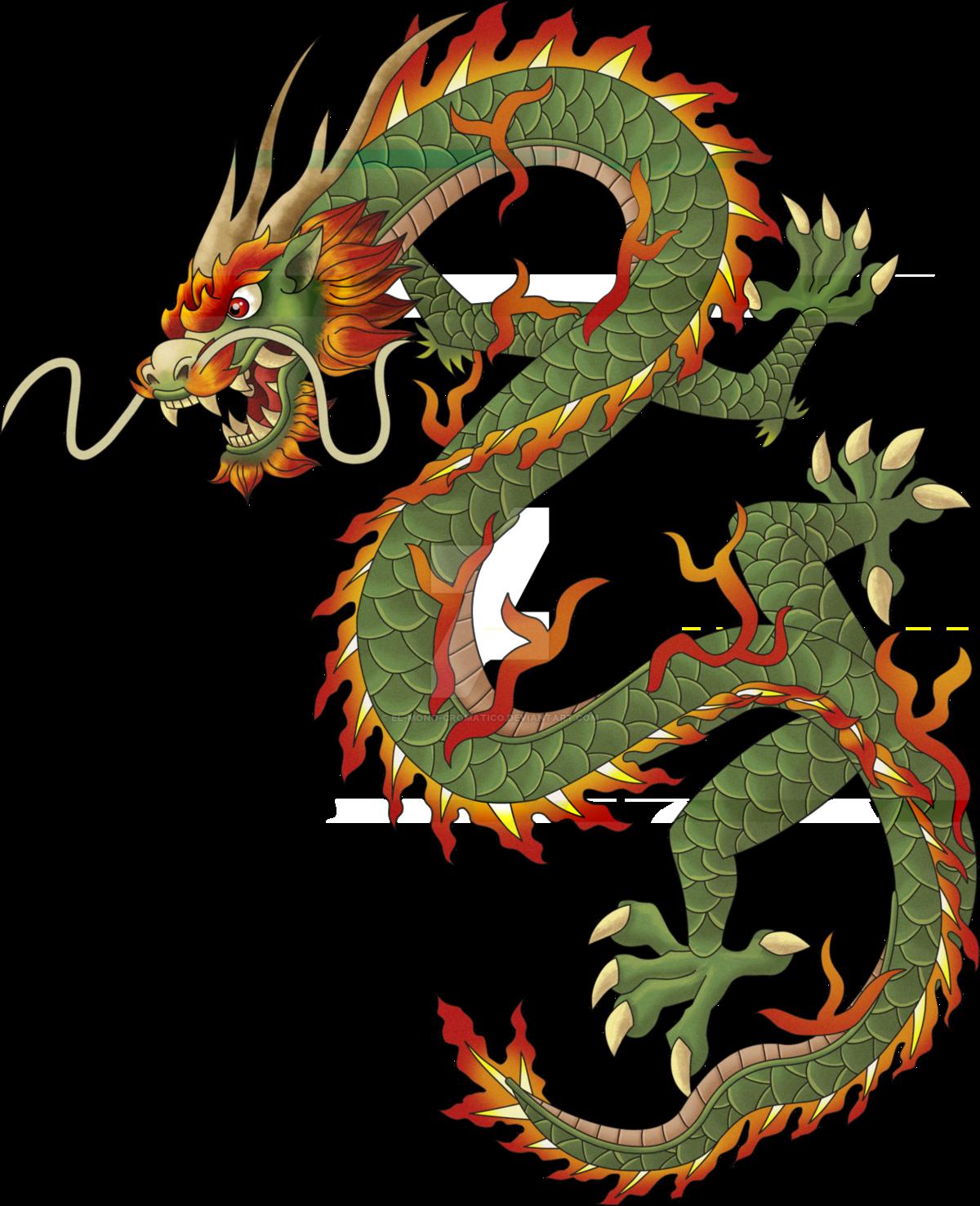 Картинки с китайскими драконами работаем