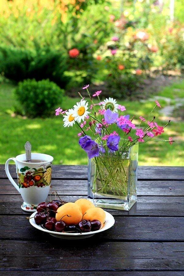 доброе утро стильные картинки лето