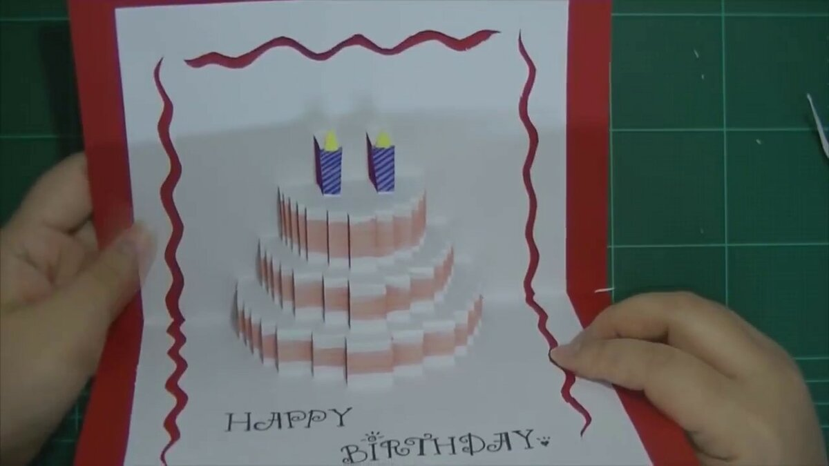 Открытка торт объемная своими руками, обувь картинки диана