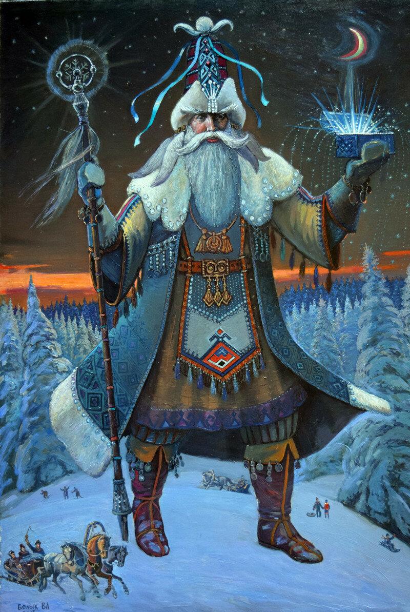 Новый год у славян картинки