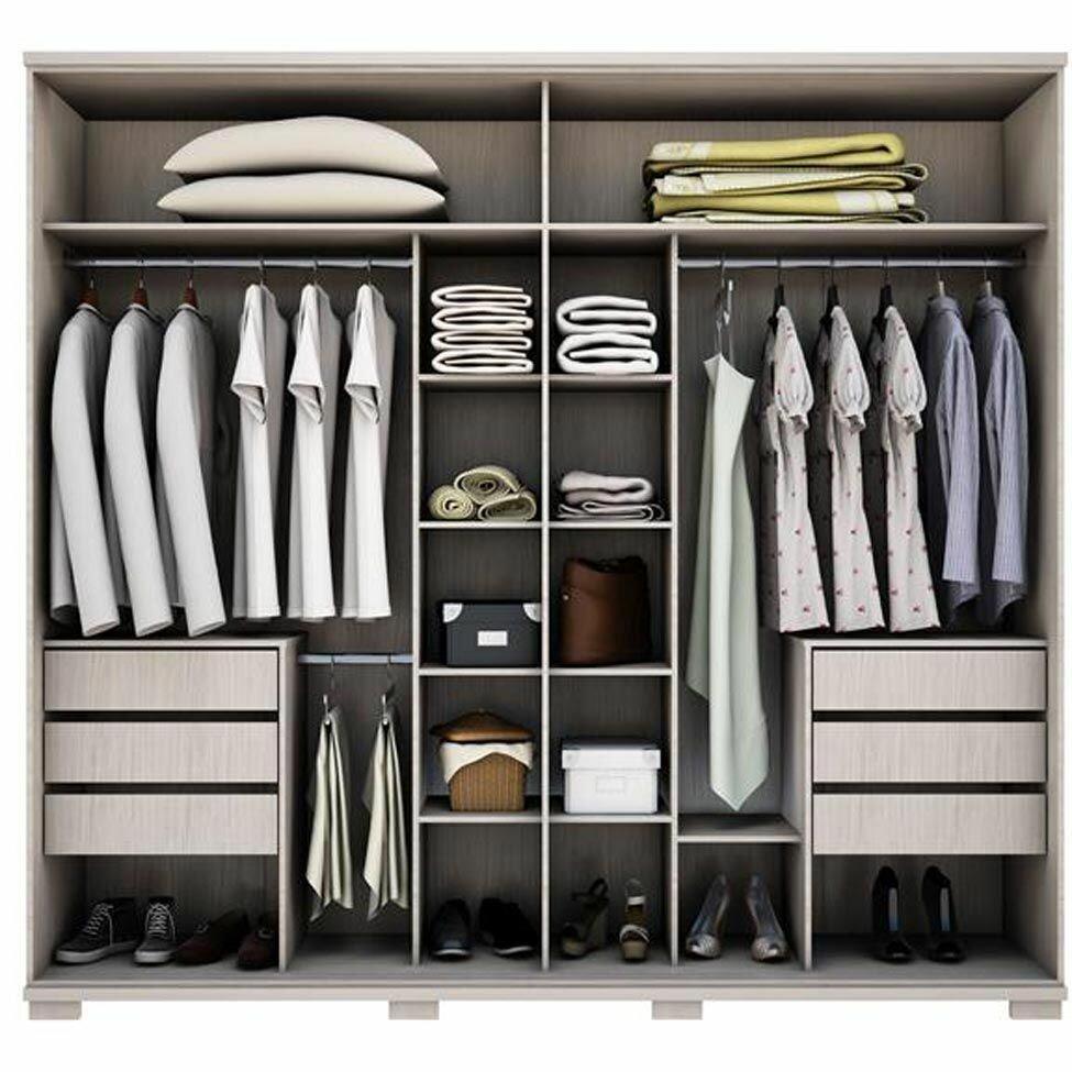 оптимальное наполнение шкафа