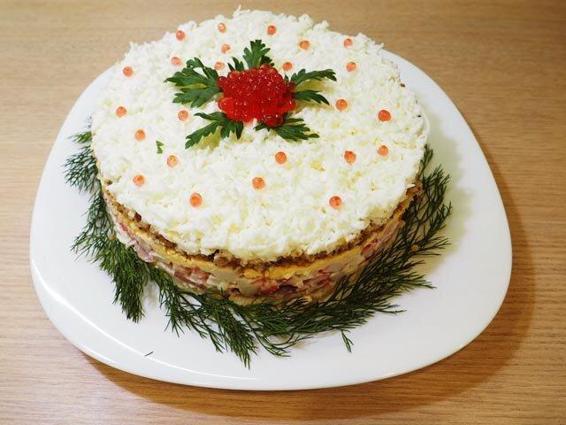 Жареный торт на сковороде рецепт с фото какой-то