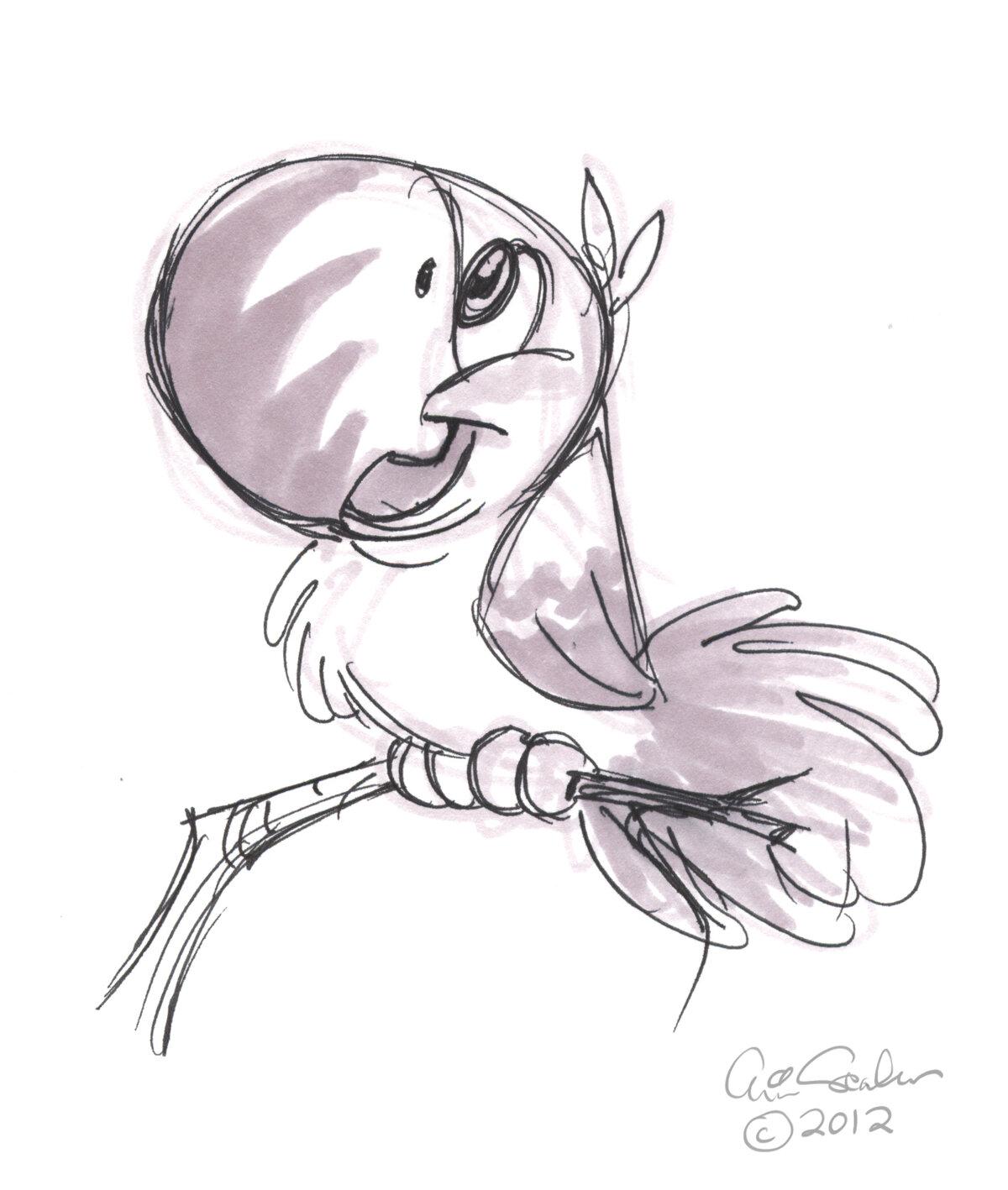 Прикольные рисунки карандашом животных