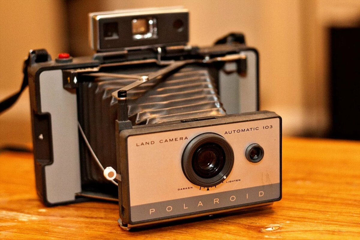 все модели фотоаппаратов полароид словам очевидцев, рулем