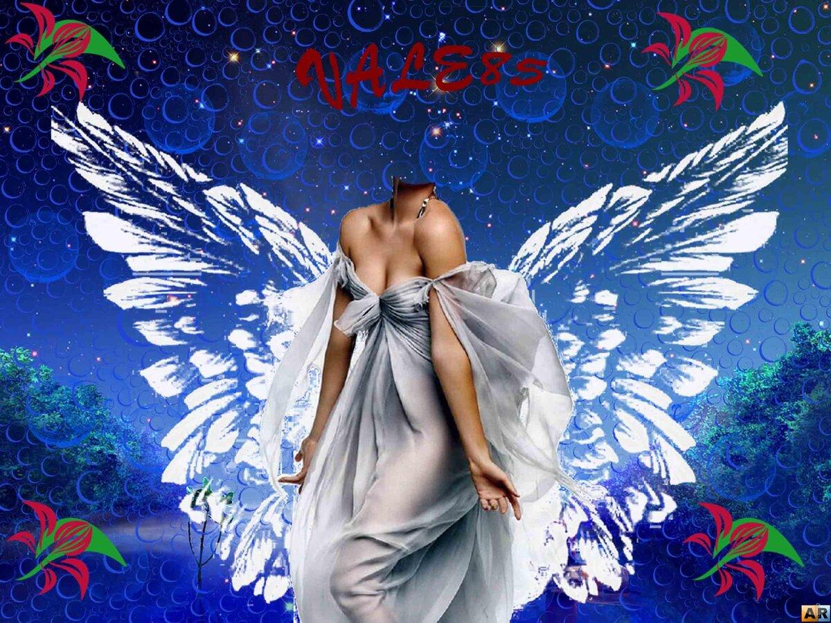 Вечной, ангел шаблон для открытки с днем рождения