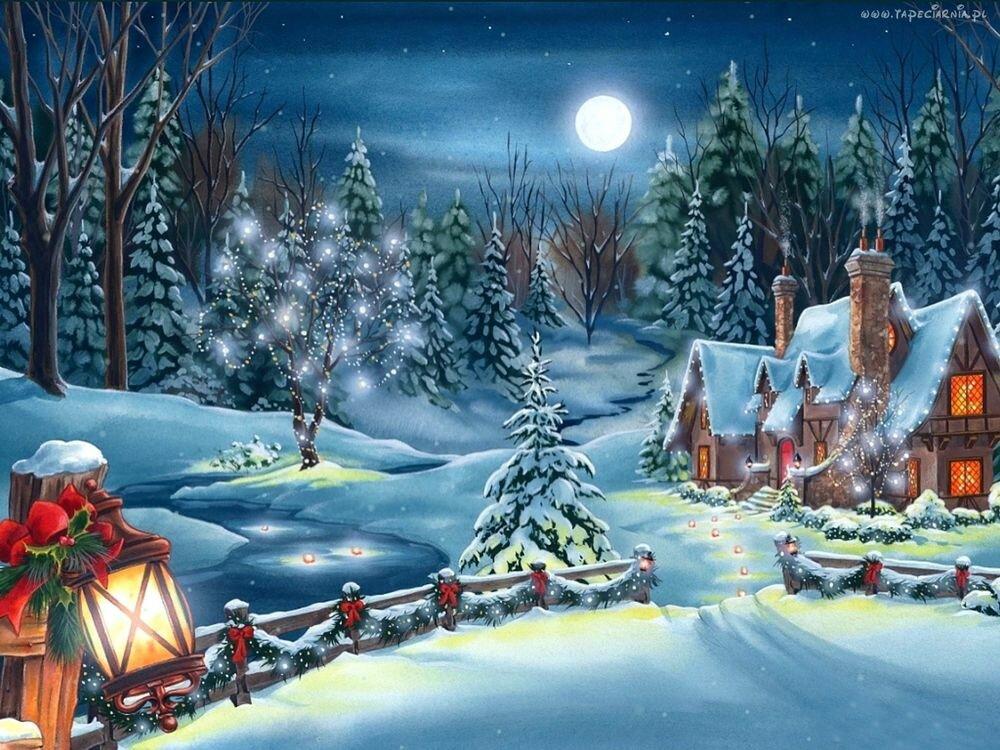 Пионеры, зимние открытки на новый год