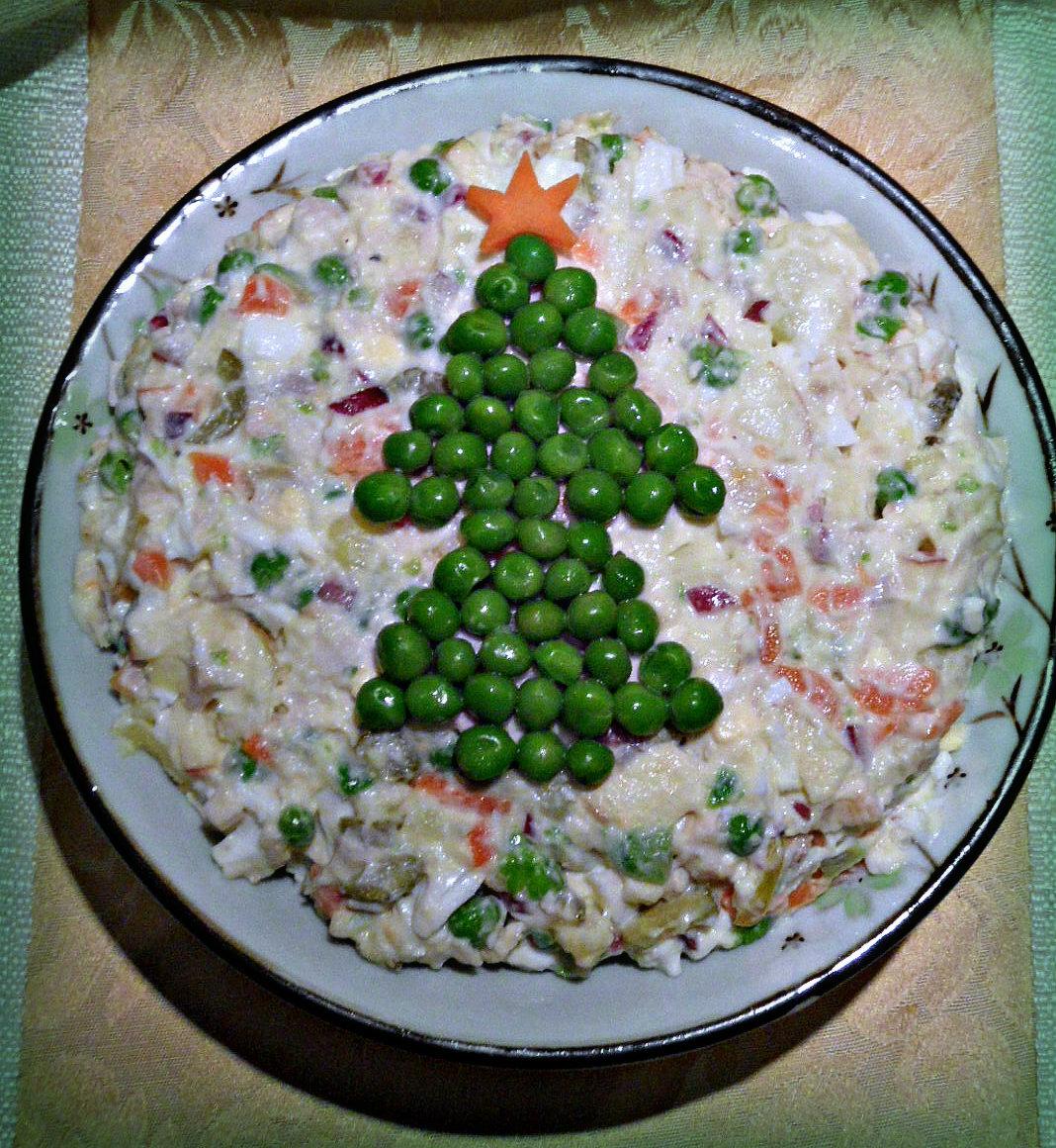сальных новогодние салаты быстро и просто фото отделочным материалом душевой
