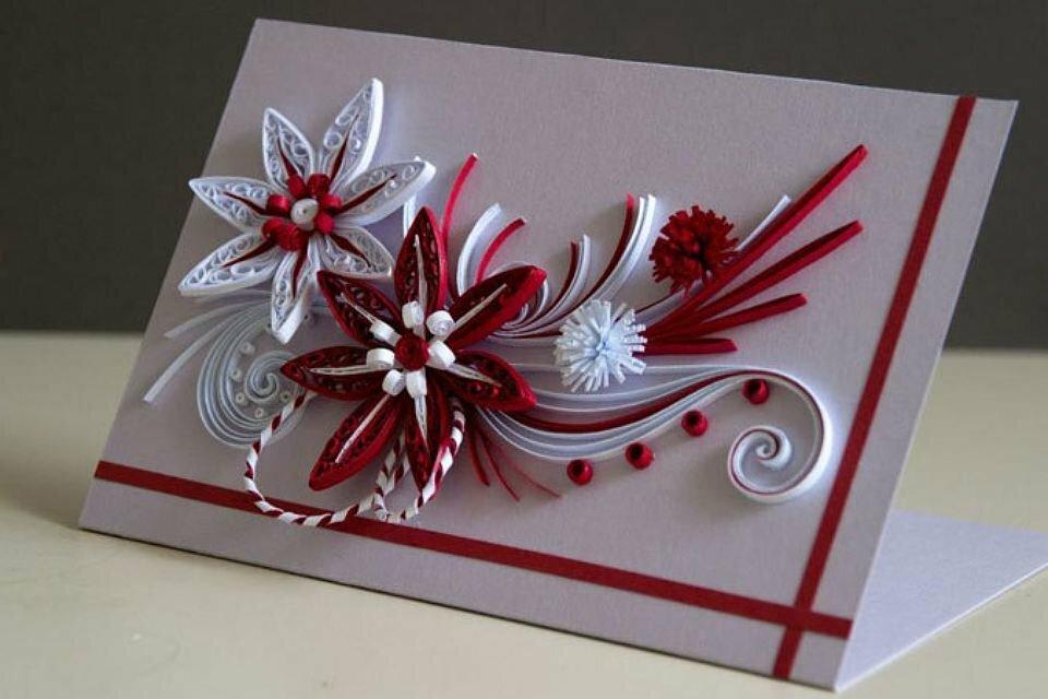 Днем рожденья, оформление открытки поделка