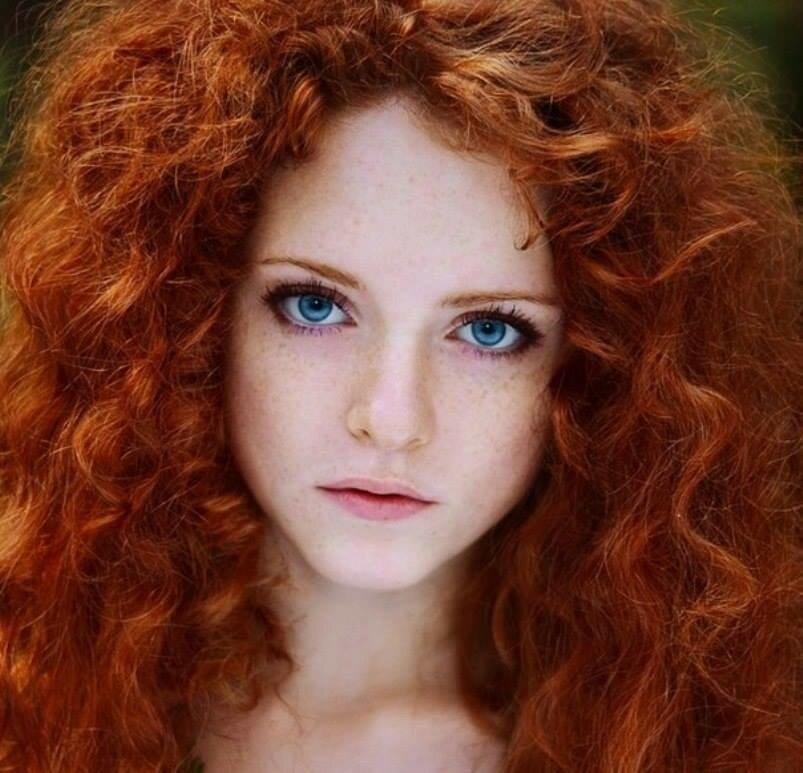 самый редкий цвет волос картинки