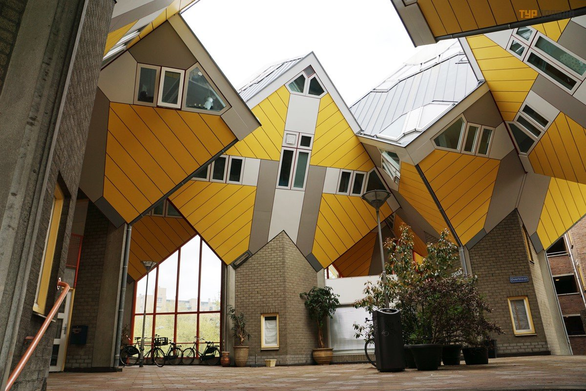 Кубические дома картинки