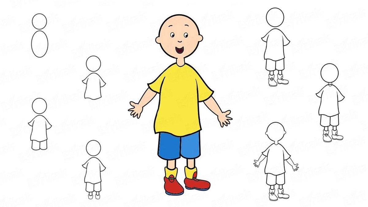 Как нарисовать картинку для мальчика