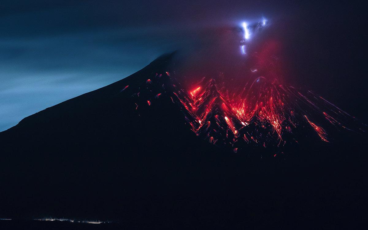 Картинки извержение супервулкана