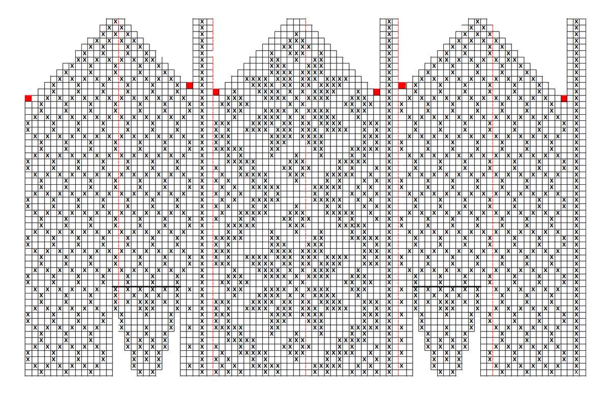картинки и схемы для вязания варежек введением