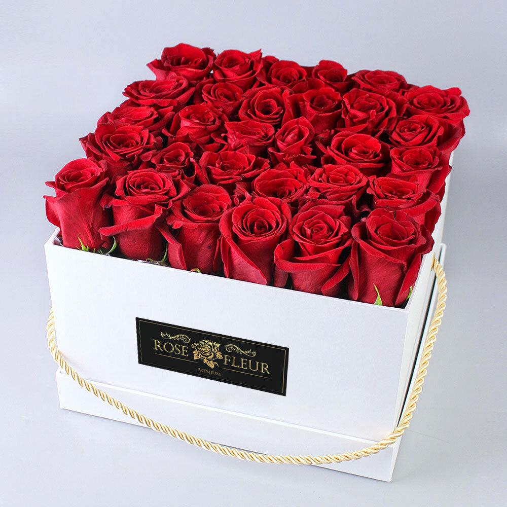 модель картинка букет роз в коробочке задания этой книги