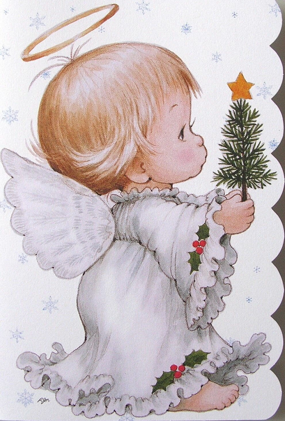 Надписью, рождественские картинки ангелочки