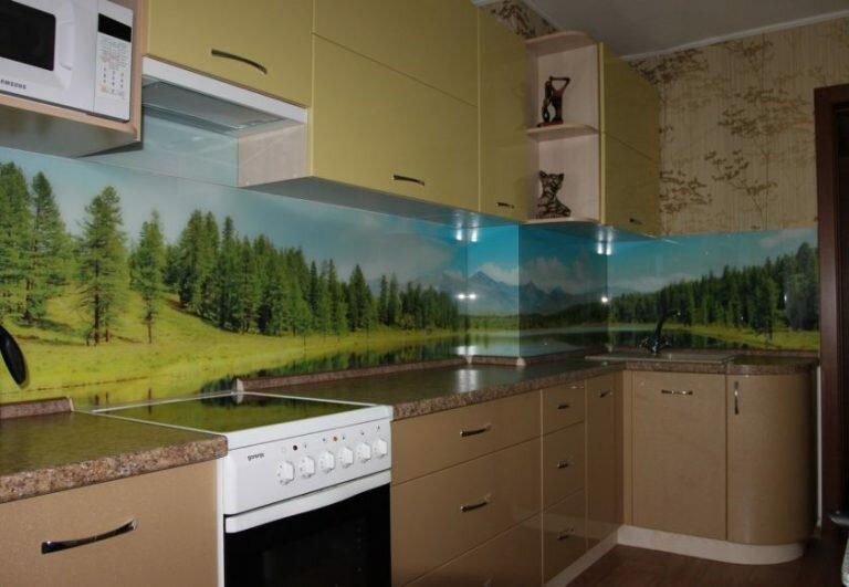 кухонный фартук фотопечать купить