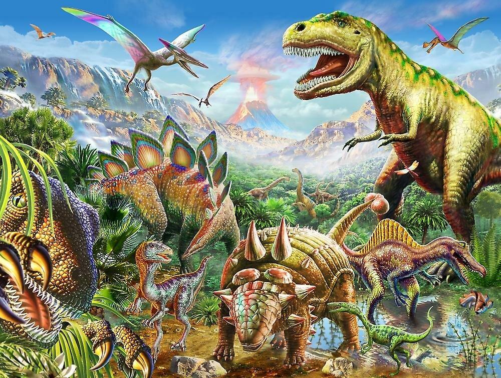 Картинка с динозаврами в хорошем качестве