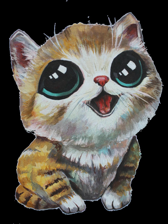 Милые кошки рисунки картинки