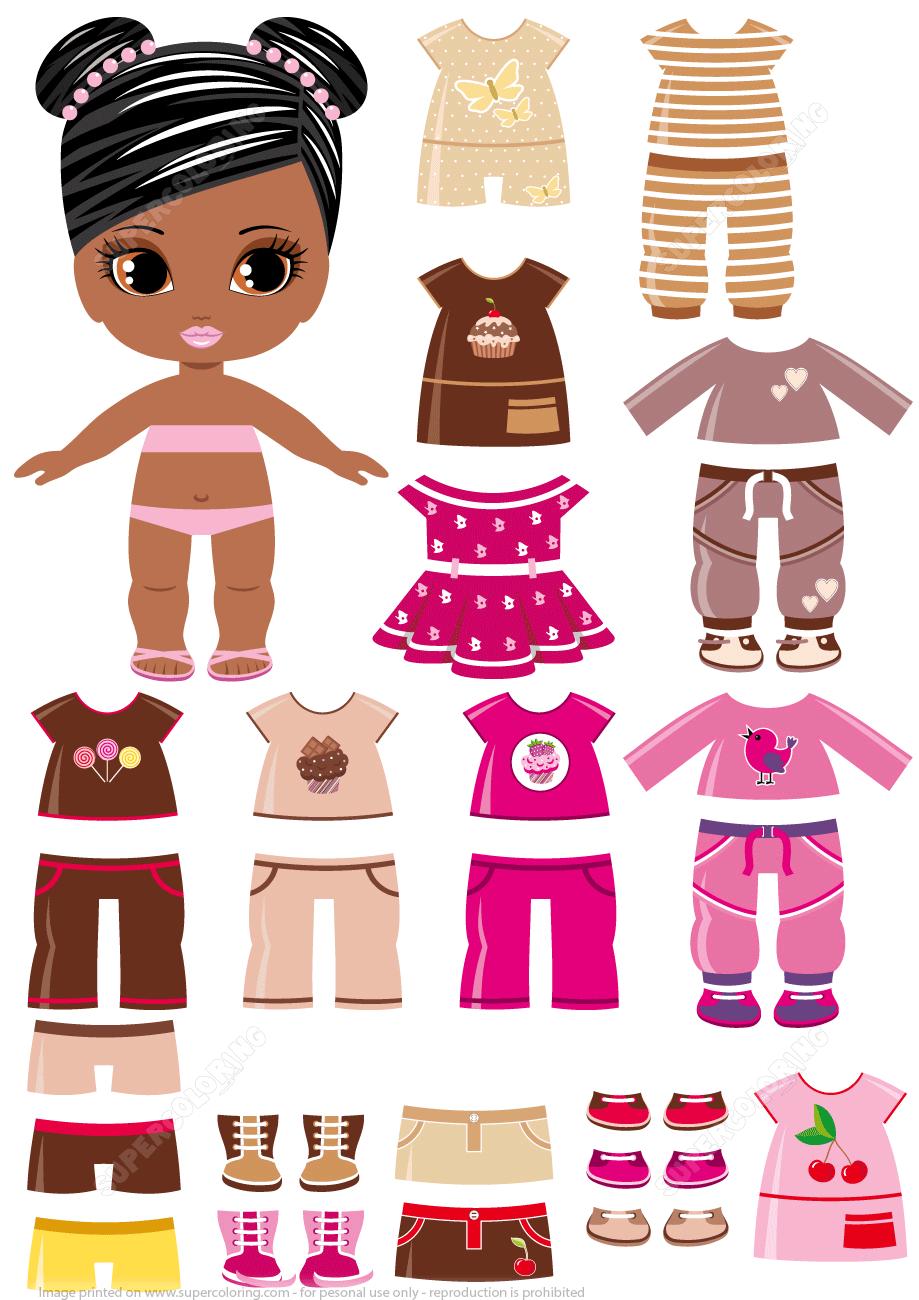 Картинки кукол одевалок