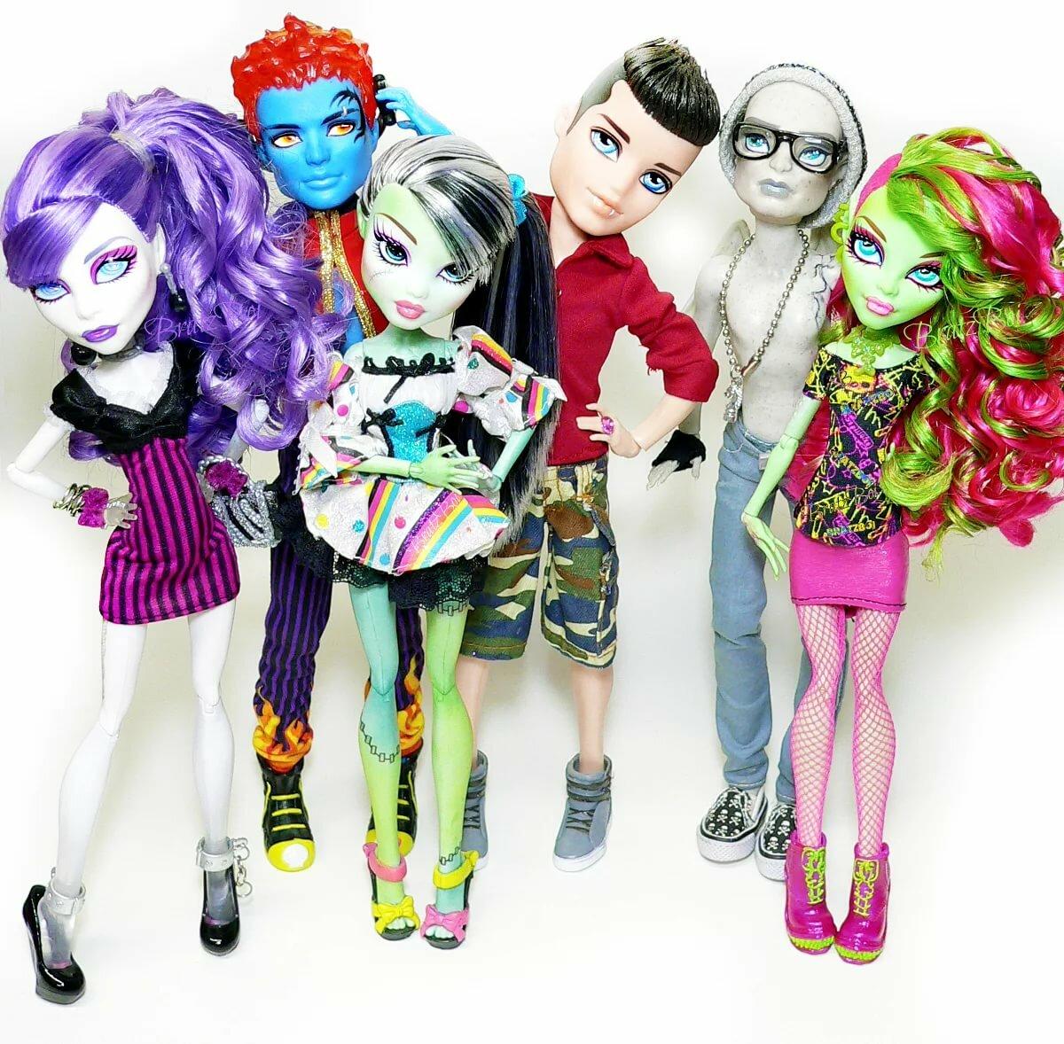 Красивые картинки с куклами монстер хай