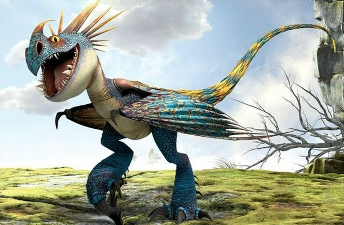 картинка драконы из мульта днем рождения тася удивительно, его
