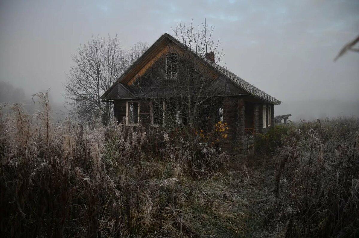 Заброшенные дома в деревне картинки