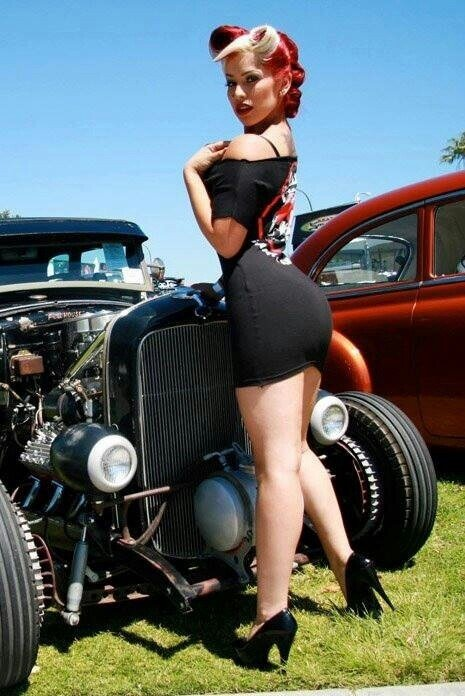 Cum sexy psychobilly girl naked young