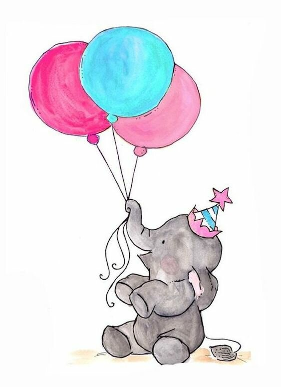 Красивые картинки для день рождения срисовать