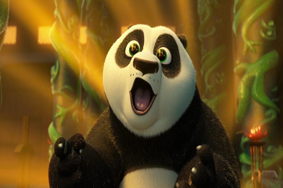 Кунфу панда картинки из мультфильма, надписью истину воскрес