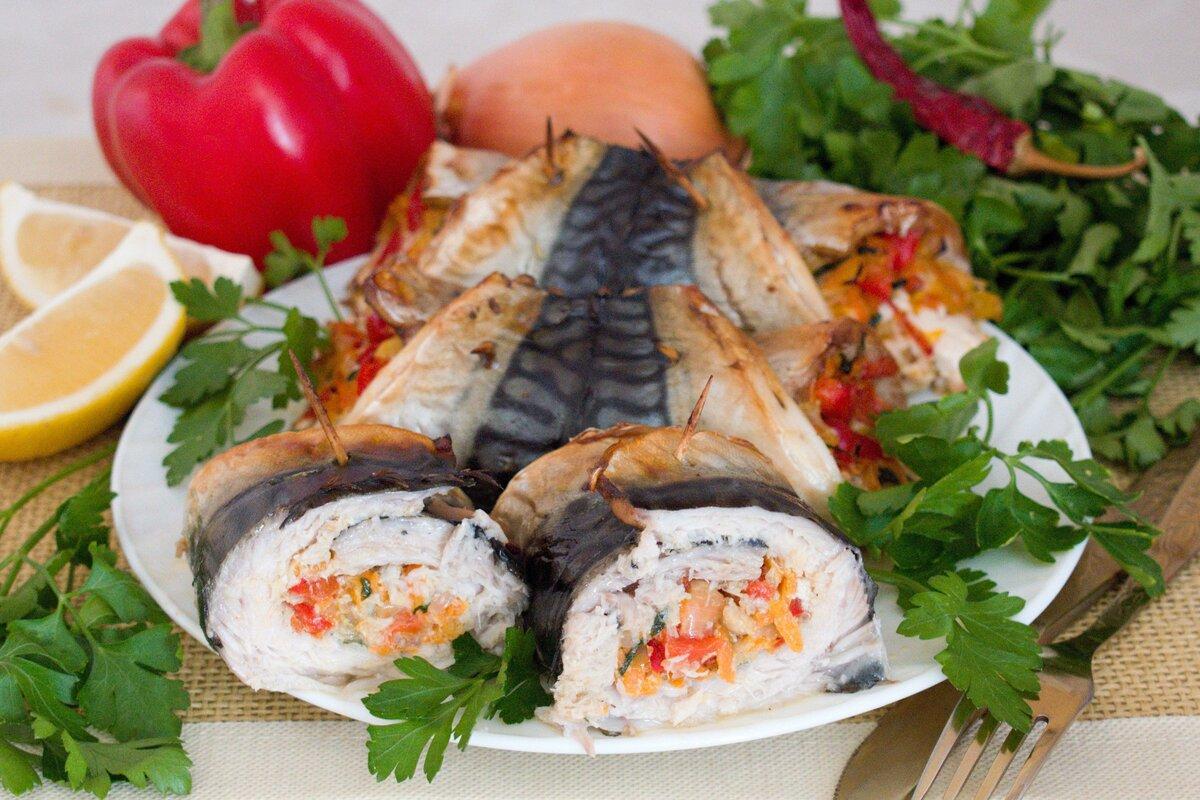 Блюда из скумбрии свежемороженой рецепты с фото