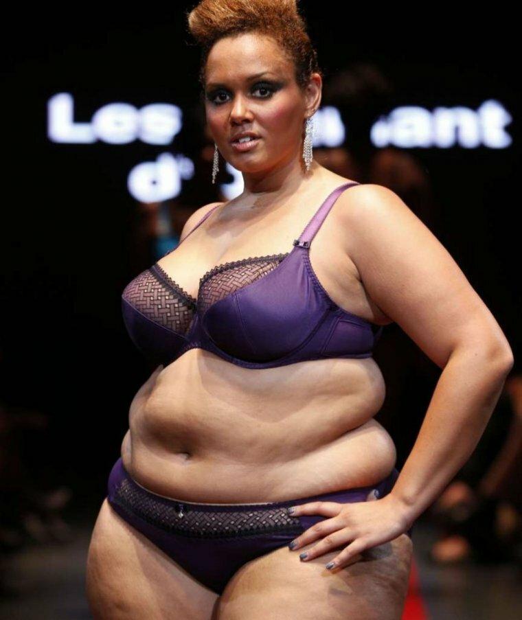Фото жирных девушек в белье — 6
