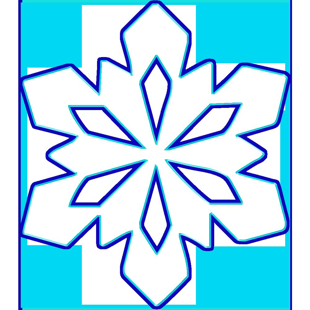 картинки снежинки которые можно вырезать них