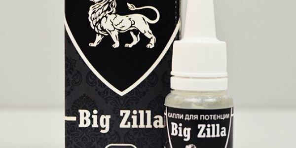 Big Zilla - капли для потенции в Калуге