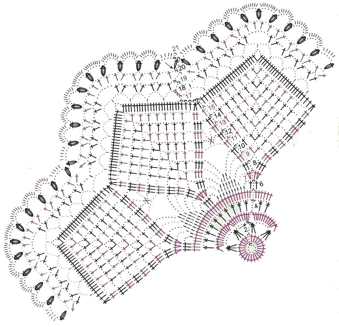 вязание крючком картинки и схемы для дома воспринимать занятия йогой
