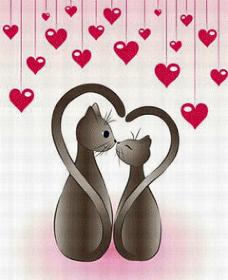 Нарисованные картинки с днем влюбленных