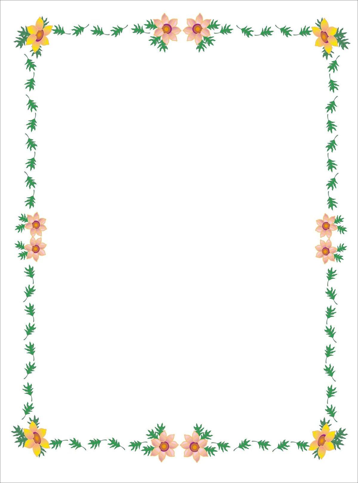 Картинки рамки для оформления текста в ворде