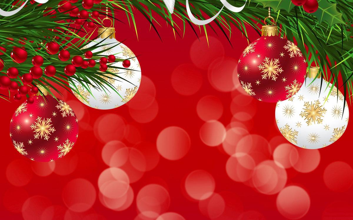 Фон к новогодним открытками, поздравление