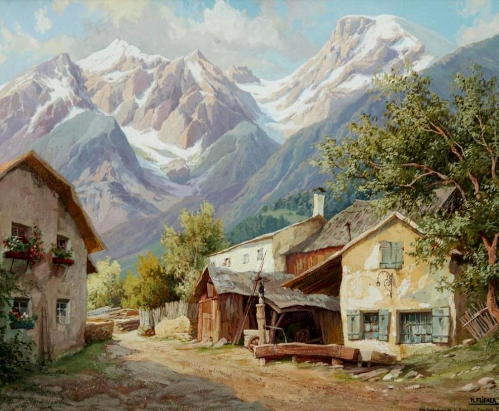 коты картина альпийская идиллия ценителей природы распахнет