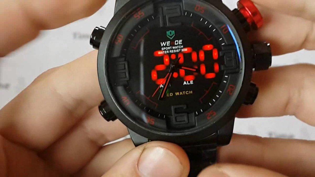 Как правильно настроить часы от фирм: weide, shark, ohsen и т.д.