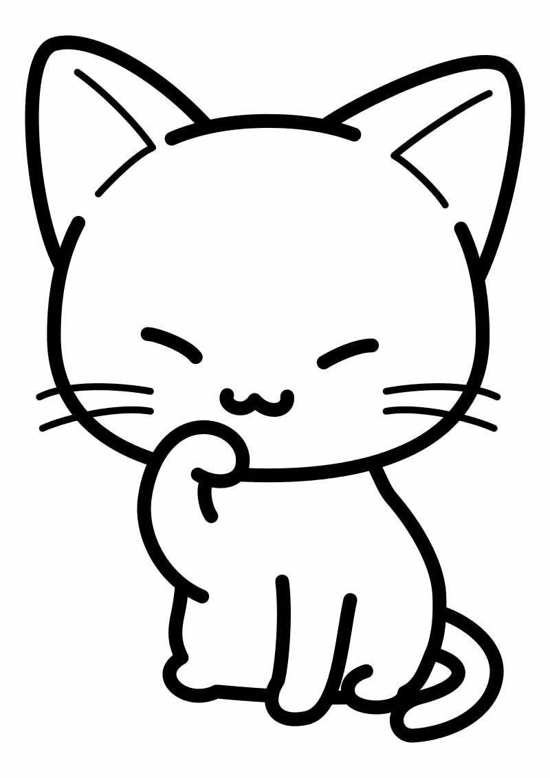 жалел, картинка маленького котенка рисунок разобраться, почему