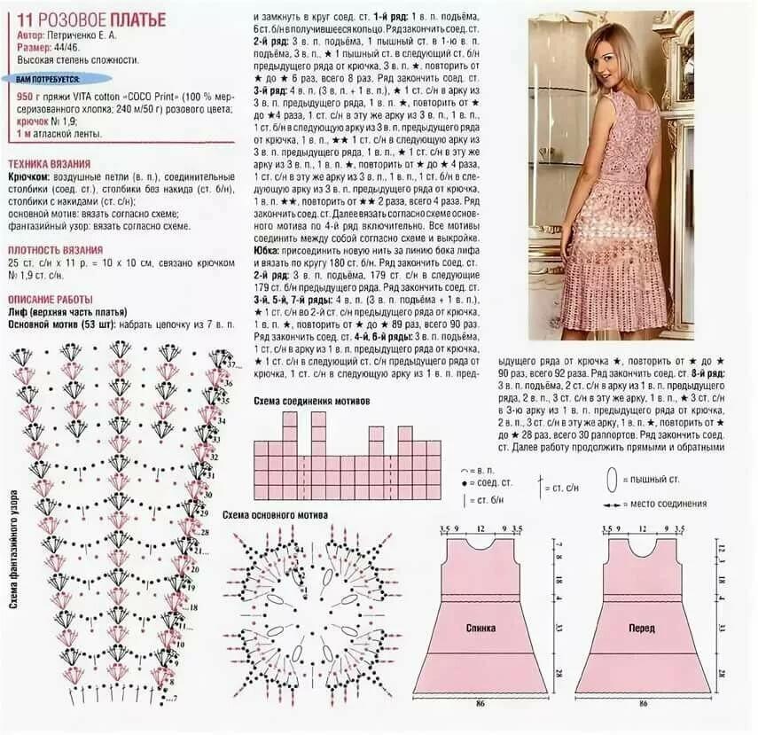 приветствие или модели платья вязаные крючком схемы и фото вчера какое-то