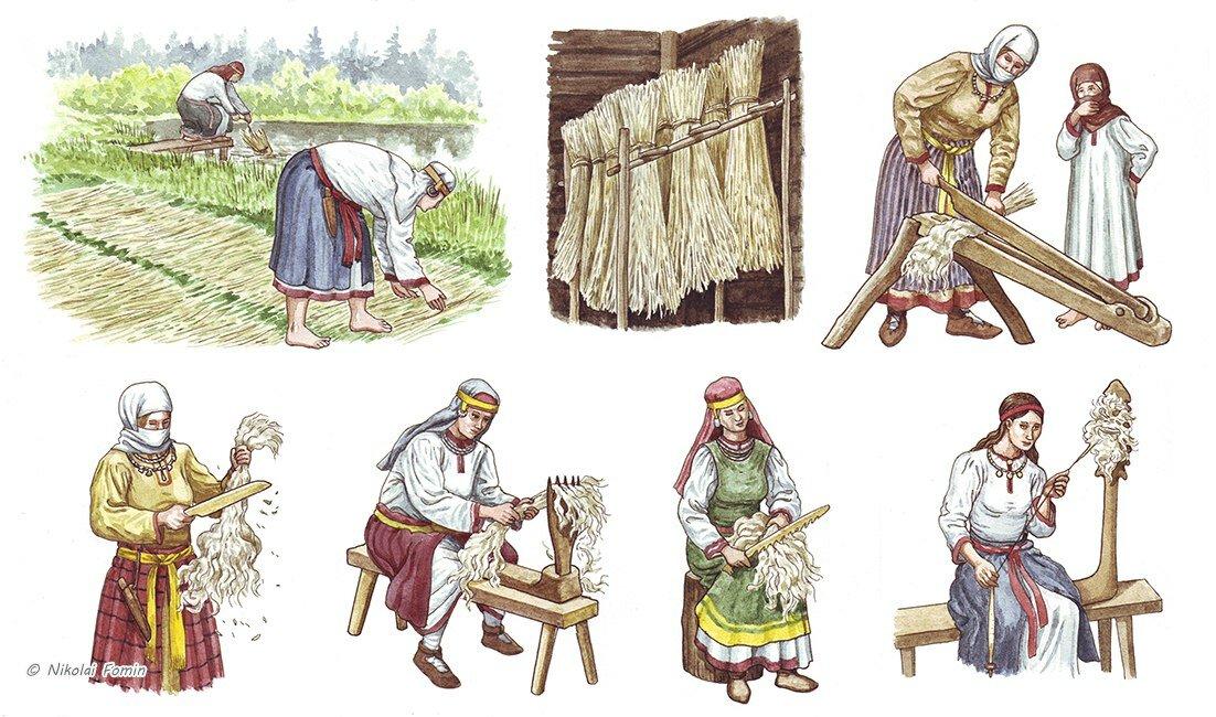 Ремесло картинки в древней руси