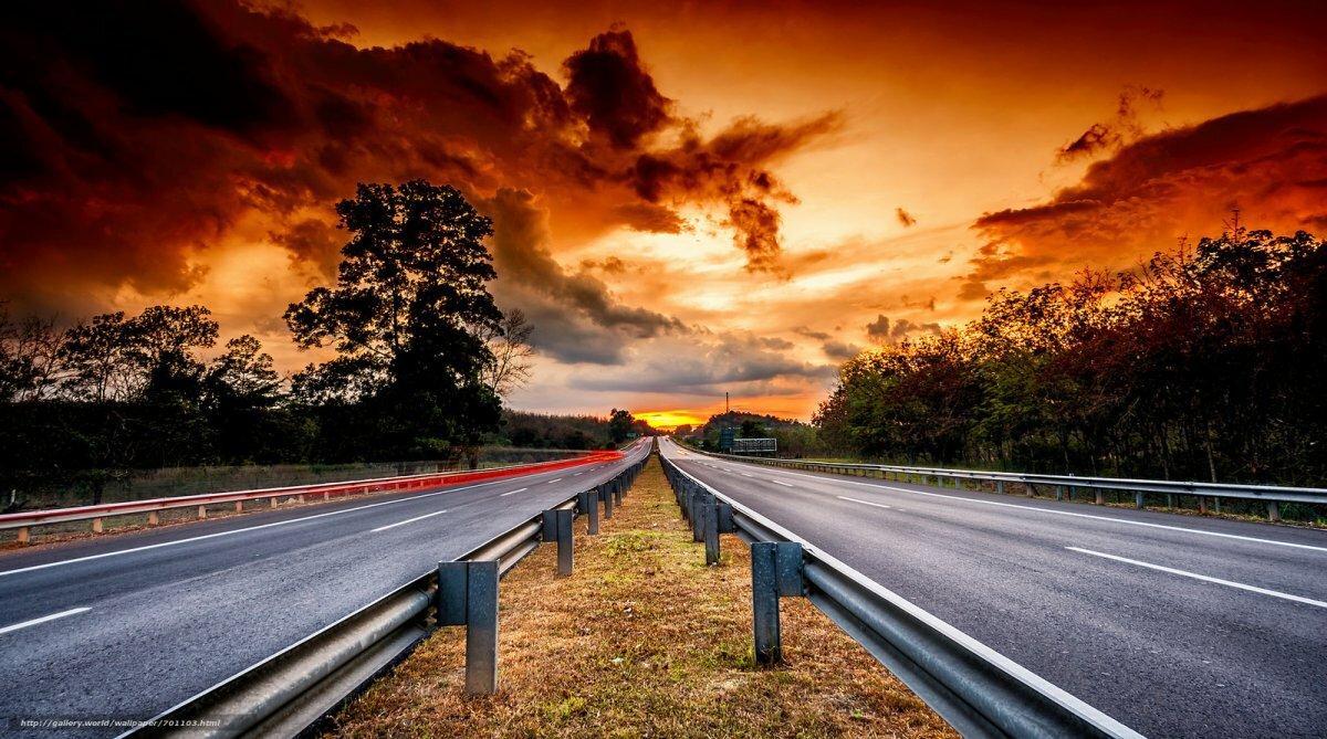 Картинка красивая дорога