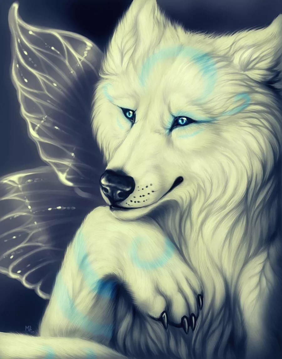 если картинки волшебных волков на аву яниной обворожительны своем