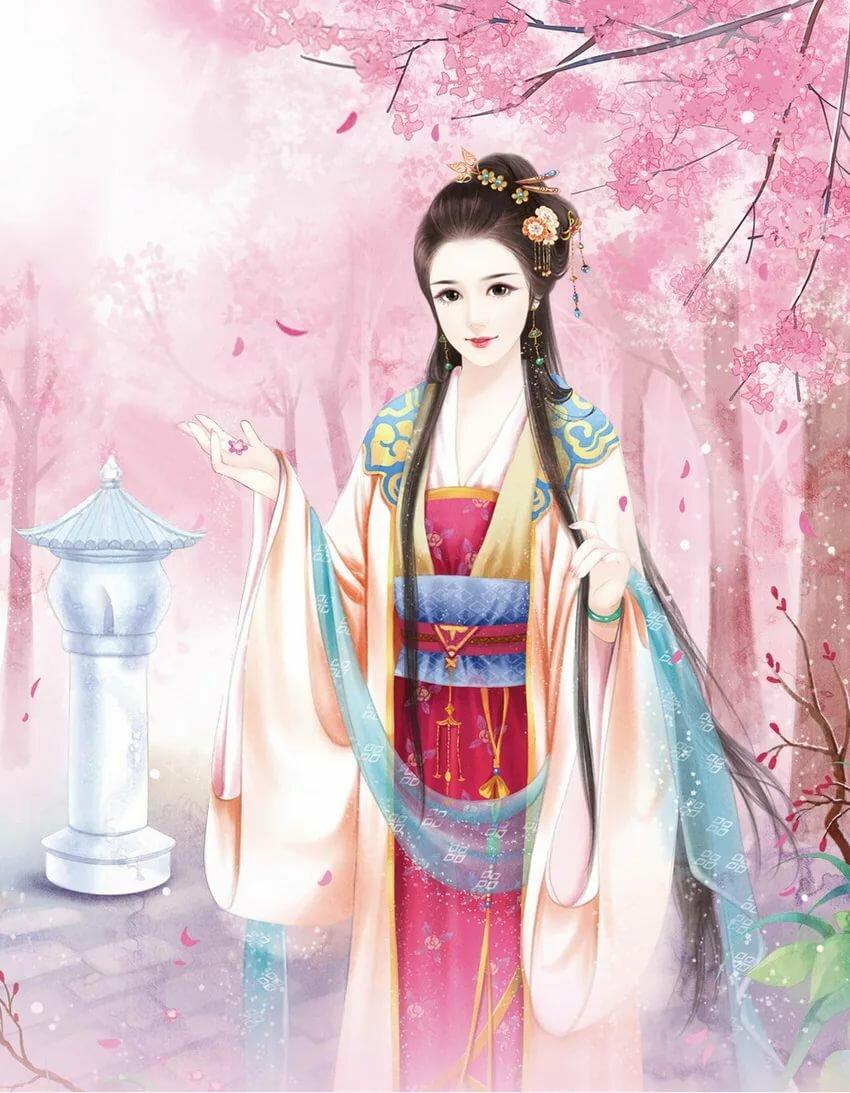 картинка китаянка рисунок что
