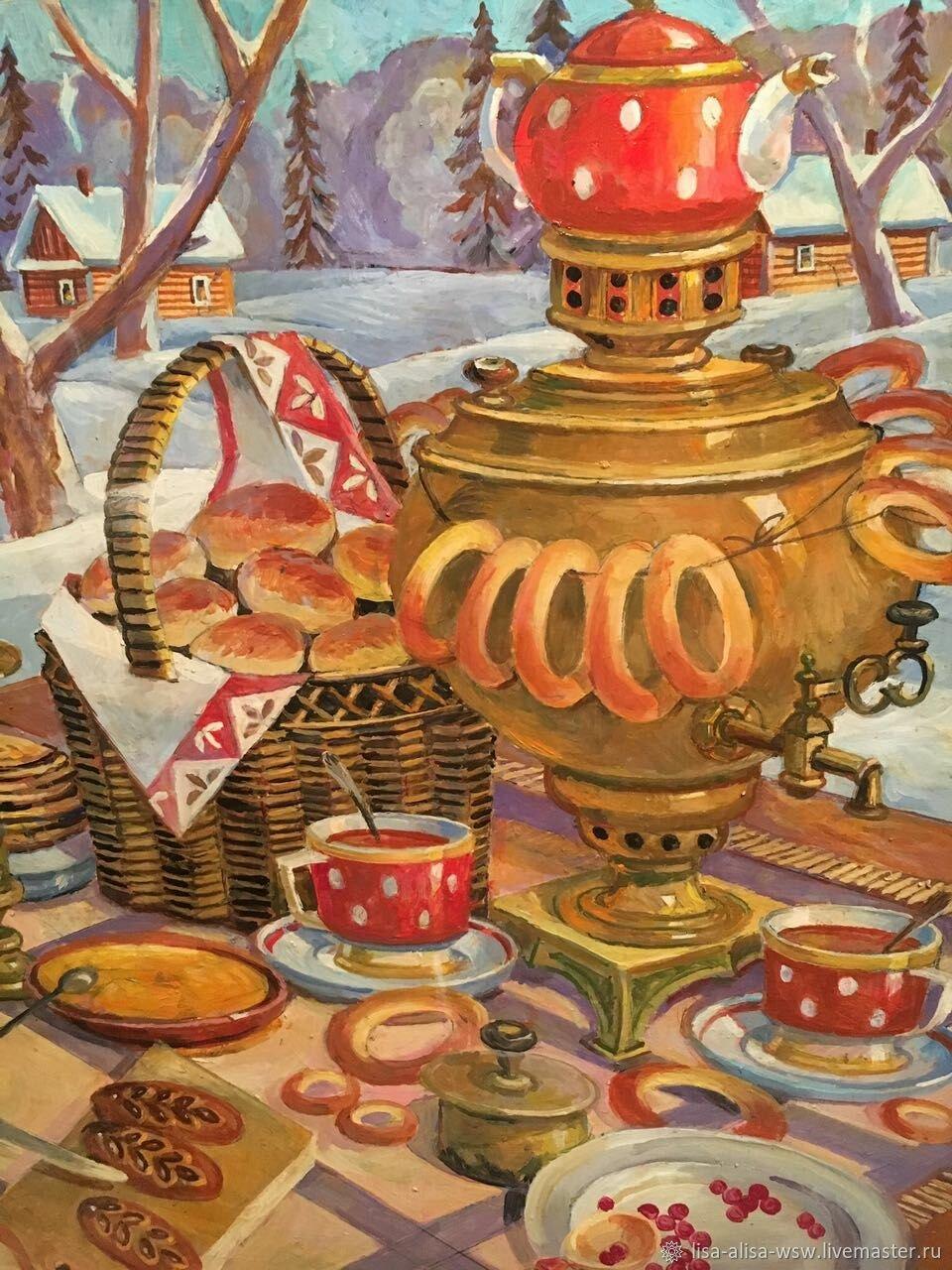 чаепитие картинка рисунок покупают фотографии