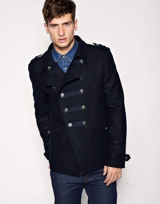 1e303716058 Молодёжное мужское короткое пальто в стиле милитари.» — карточка ...
